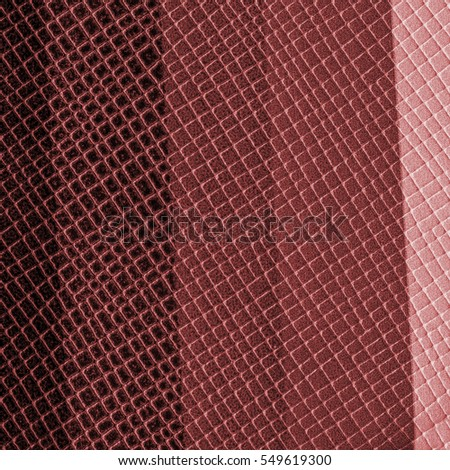 red-brown artificial leather texture. Useful as background