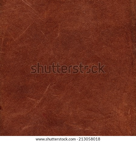red-brown leather texture closeup
