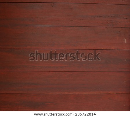 red brown wood background - stock photo