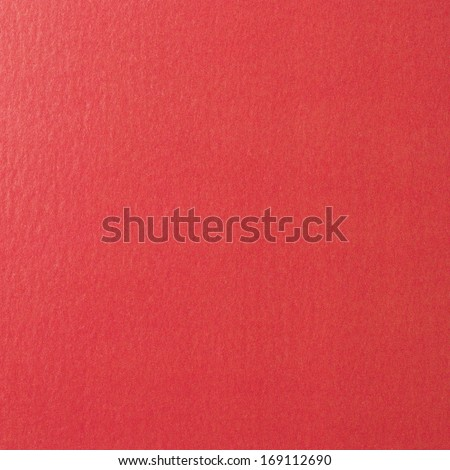 Red Cardboard as background