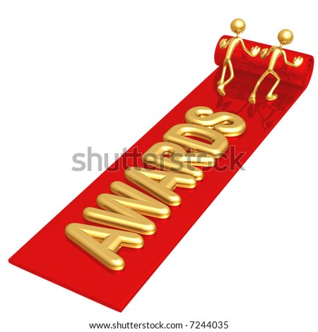 Red Carpet Awards - stock photo