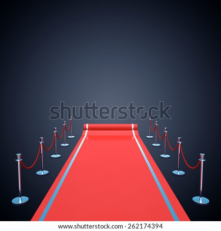 Red carpet event background , Award ceremony , Premiere - stock photo