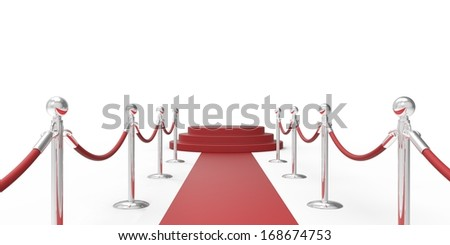 red carpet. vip