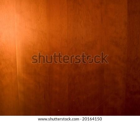 red cedar wood grain - stock photo
