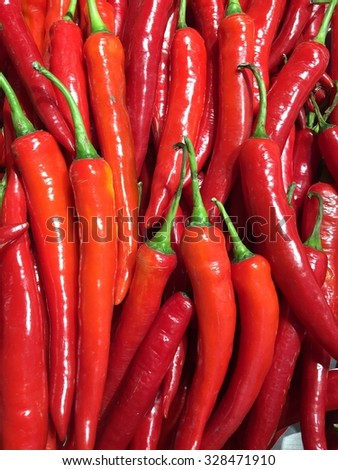 Red chili pepper. - stock photo