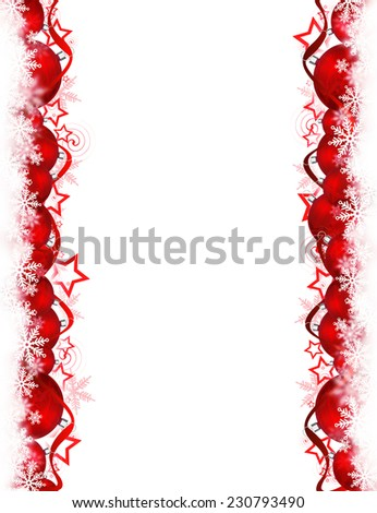 Red Christmas background for your design.