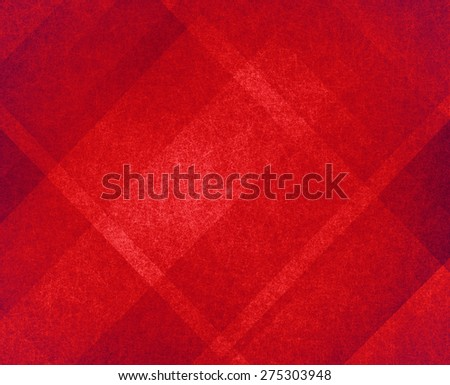 red Christmas background, plaid textured background - stock photo