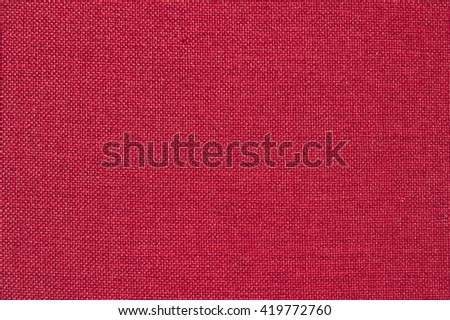 red cloth texture - stock photo