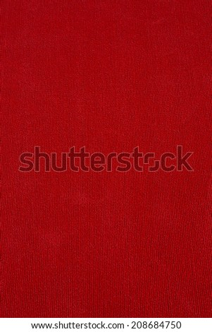 red color carpet texture - stock photo