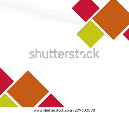 Red Copyspace Background - stock photo