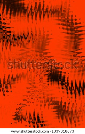 Red creative abstract digital background. Overlapping colors. Illustration