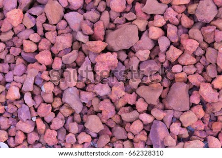 Red Stones For Garden Red crushed stones garden background red stock photo royalty free red crushed stones garden background red rocks rubble top view workwithnaturefo