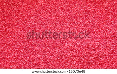 red crystals - background