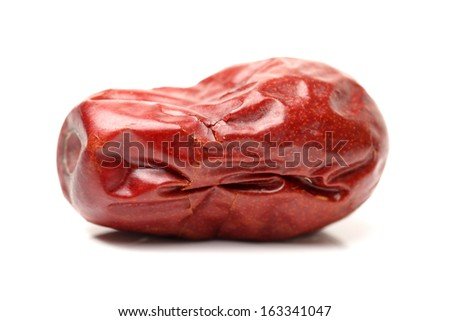 red date on white background