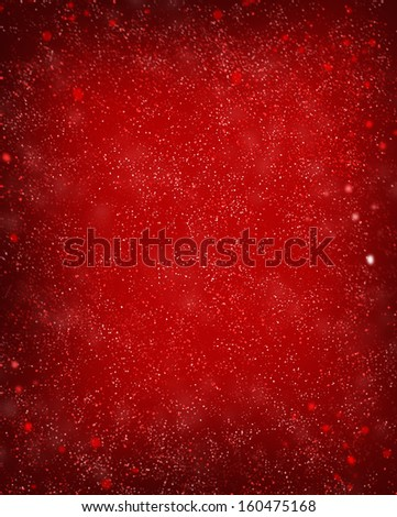 red defocused lights background. abstract bokeh lights . - stock photo