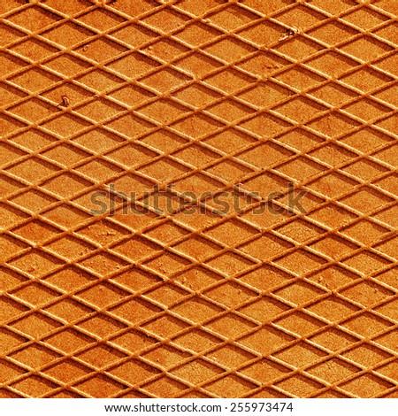 red diamond metal background, seamless - stock photo