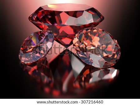 red diamonds on red background with clipping path.