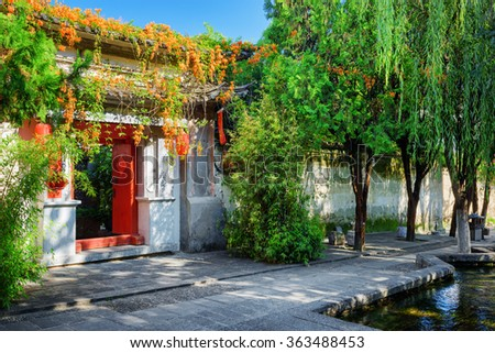 Chinese House Stock Images, Royalty-Free Images & Vectors ...