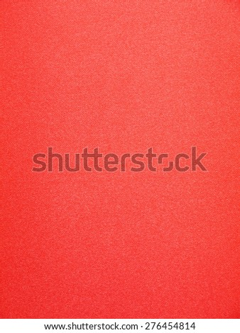 red fabric background - stock photo