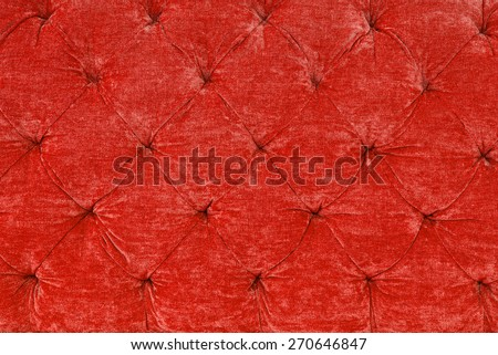 Red fabric texture with a retro style