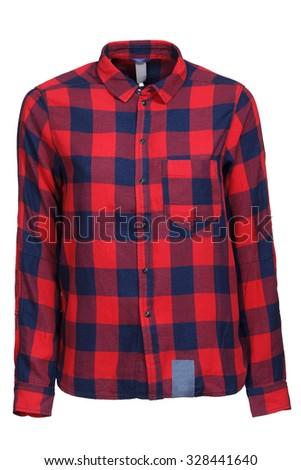 red female shirt - stock photo
