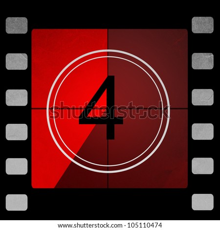 red Film countdown 4