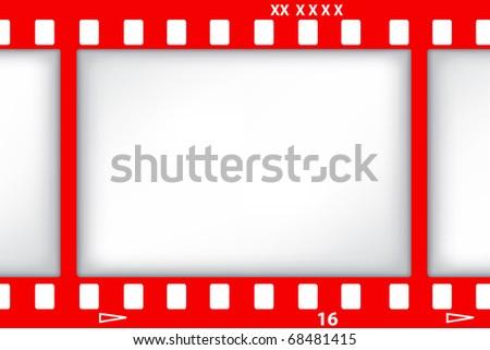 red film. jpg - stock photo