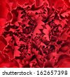 Red flower petals closeup with nice texture and skin details - stock