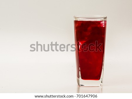 Red Food Coloring Diffuse Water Inside Stock Photo (Safe to Use ...