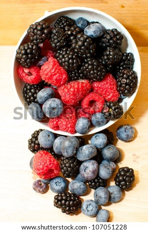 Red Fruit-Passion-Fruit Of Passion-Summer Fruit - stock photo
