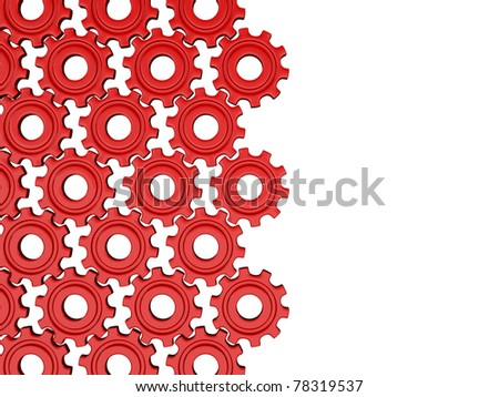 Red gears