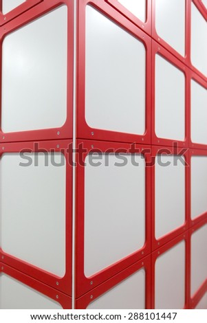red geometric the squares abstract modern background
