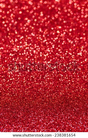 red glitter christmas abstract background - stock photo