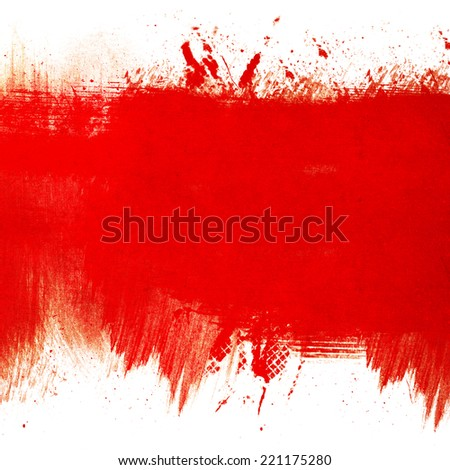Red grunge textures and backgrounds - stock photo
