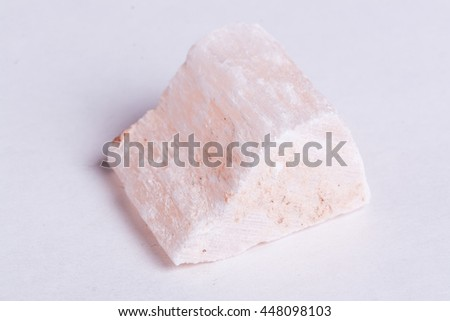 red Gypsum Mineral