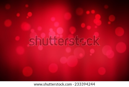 Red holiday bokeh. Abstract Christmas background - stock photo