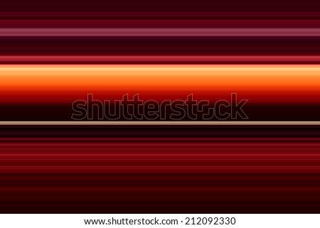 Red Horizon Background - stock photo
