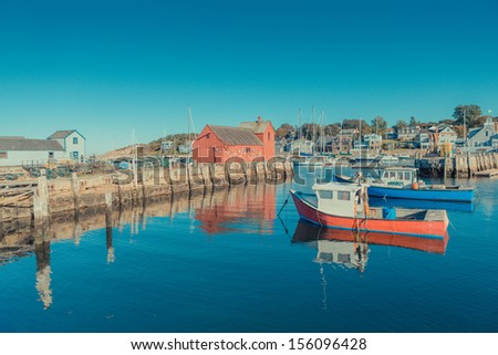 Red House - stock photo