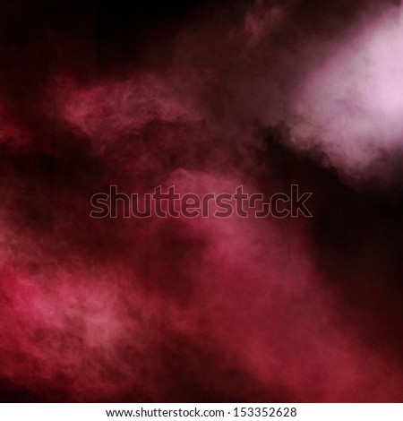 Red illumination as a background/Violet party lighting - stock photo