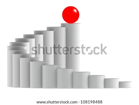 Red leader - stock photo