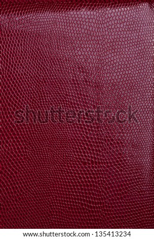 Red leather texture background seamless - stock photo