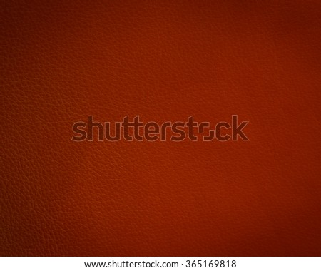 Red leather texture closeup detailed background. - stock photo
