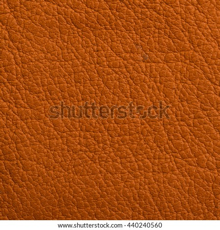 Red Leather texture closeup macro shot for background - stock photo