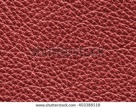 red leather texture closeup. Useful for background