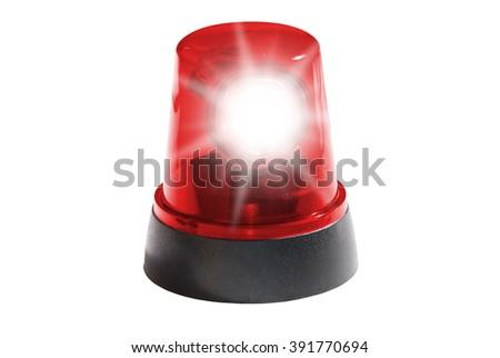 Red light - stock photo