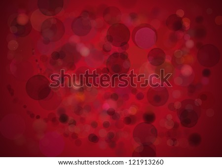 Red  lights - stock photo