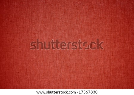 red linen background