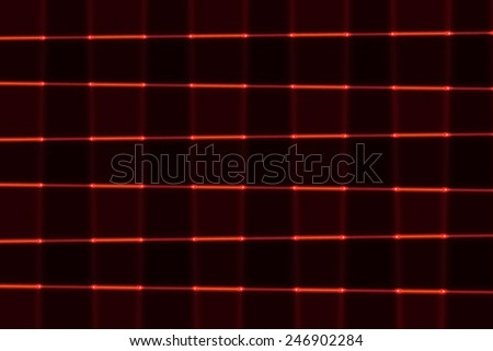 RED LINES ABSTRACT - stock photo