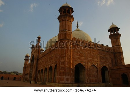Red mosque in Lahore