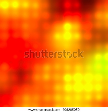 red orange bright lights abstract background illustration